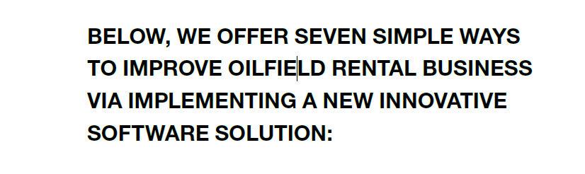 7 Ways to Boost Oilfield Rentals R3