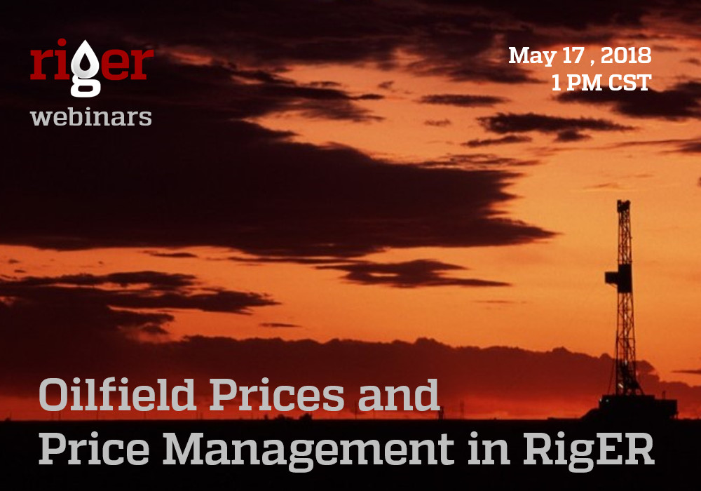 Oilfield Prices Webinar