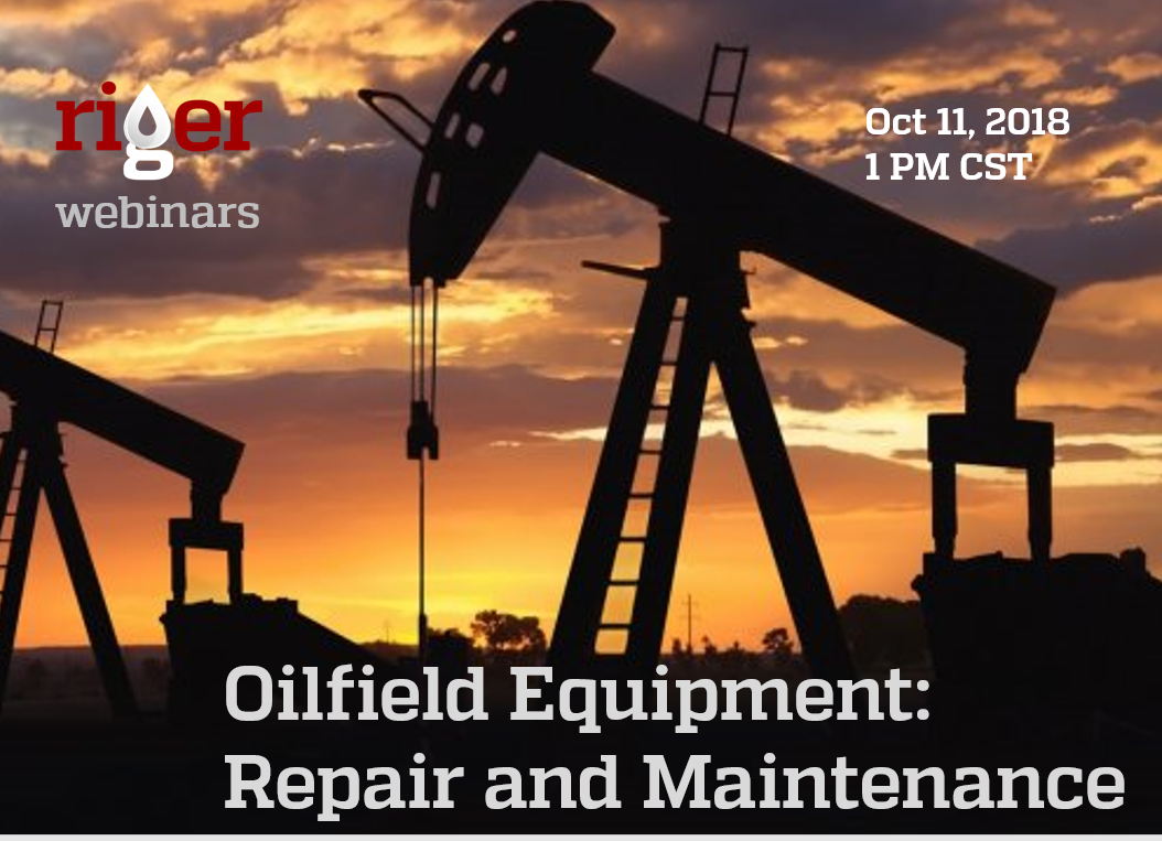 Oilfield Equipment Repair and Maintenance