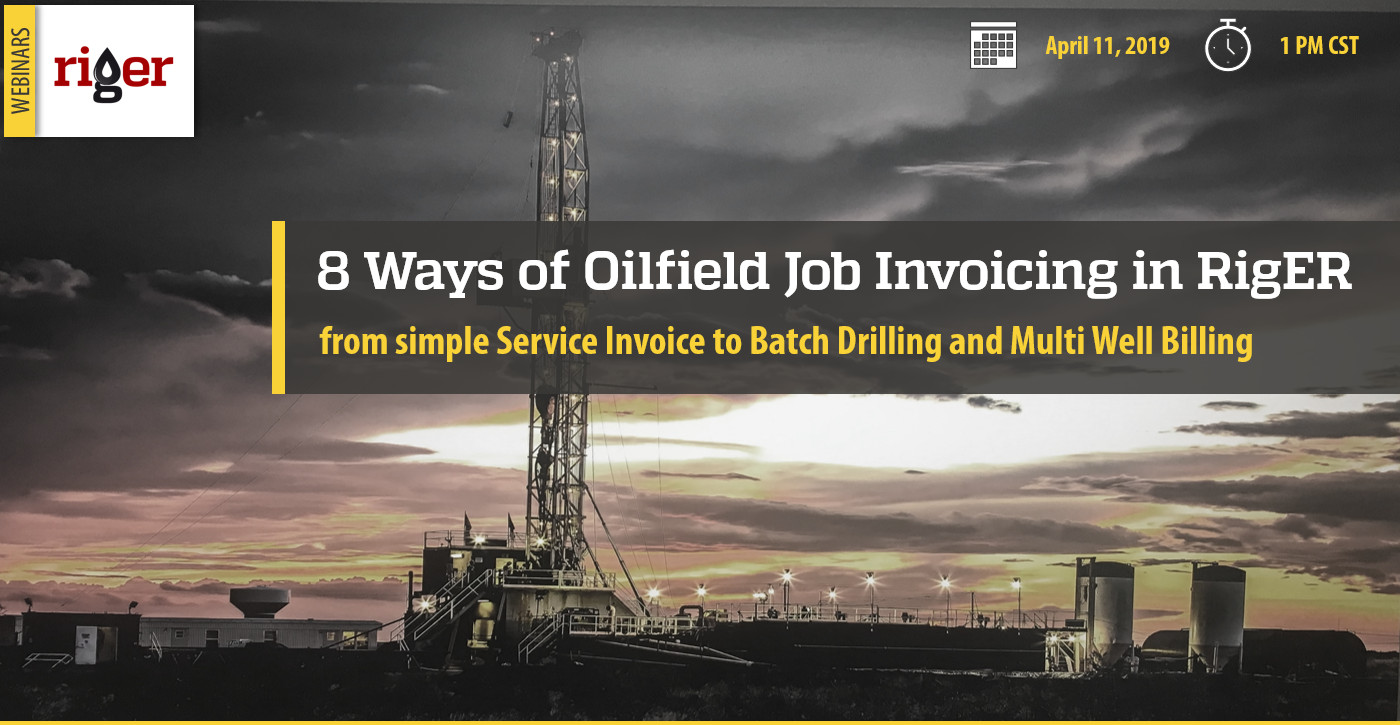 Oilfield Invoicing Webinar