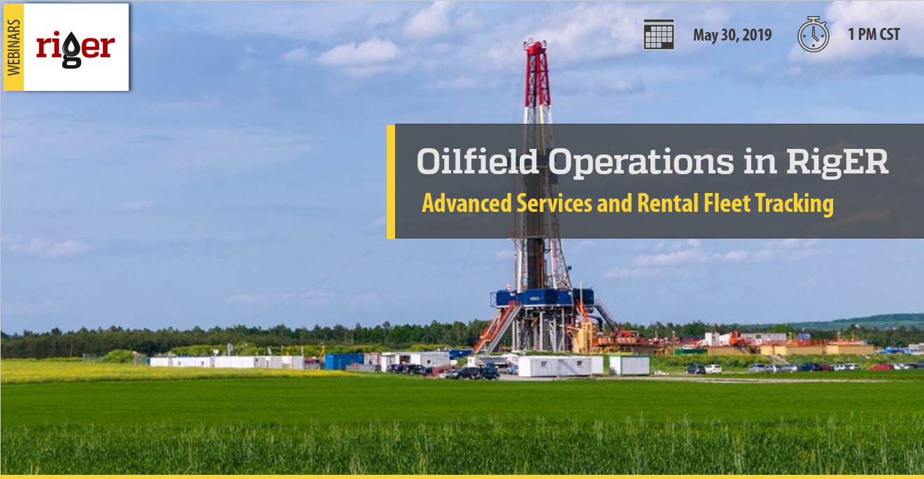 Oilfield Operations in RigER