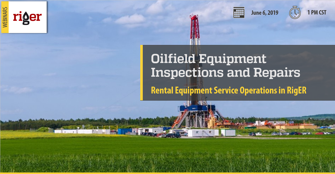 Oilfield Rental Equipment Repairs and Inspections