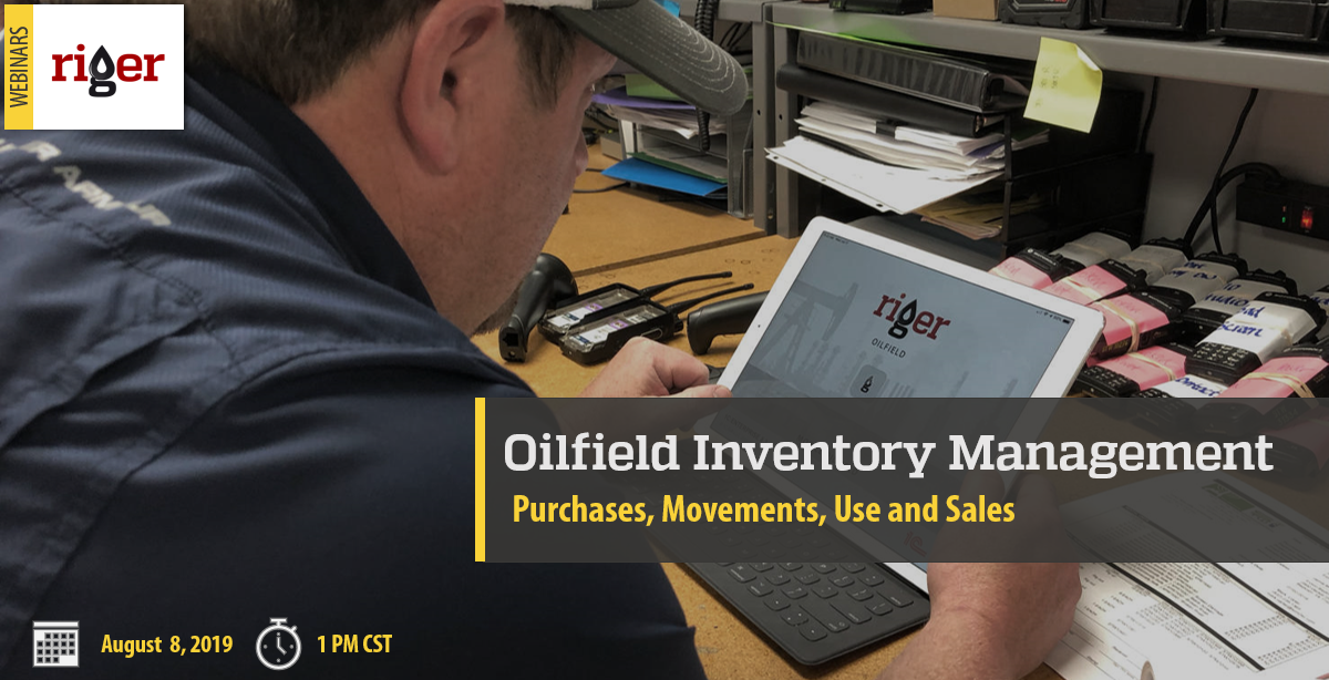 Oilfield Inventory management