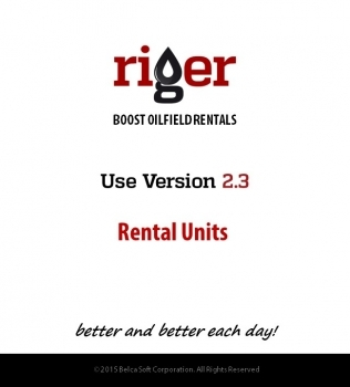 RigER Version 2.3 – Rental Units