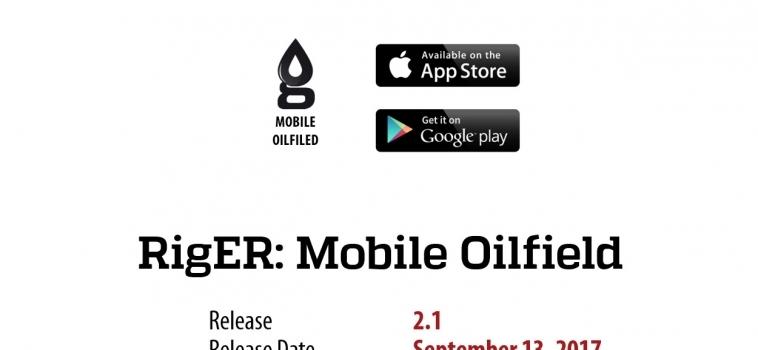 RigER Mobile Oilfield 2.1