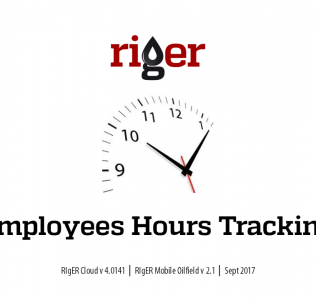 Oilfield Service Hours Tracking in RigER