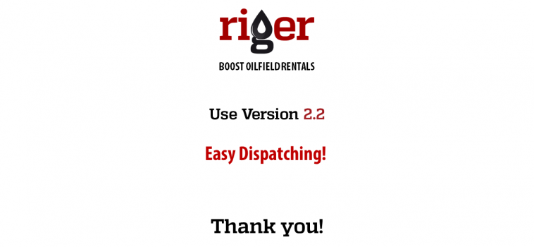 RigER Version 2.2 – Oilfield Dispatching